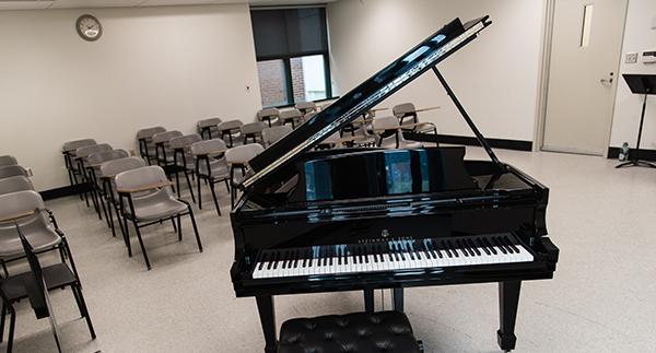 UConn Music Classroom